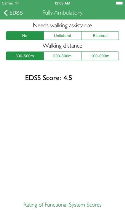 Easy EDSS Score screenshot-4
