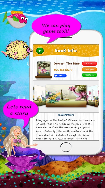 Story Time Interactive reading