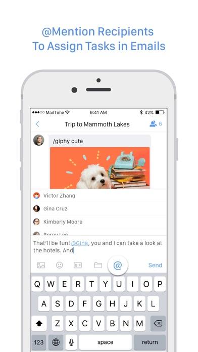 MailTime Pro Email Messenger Screenshots