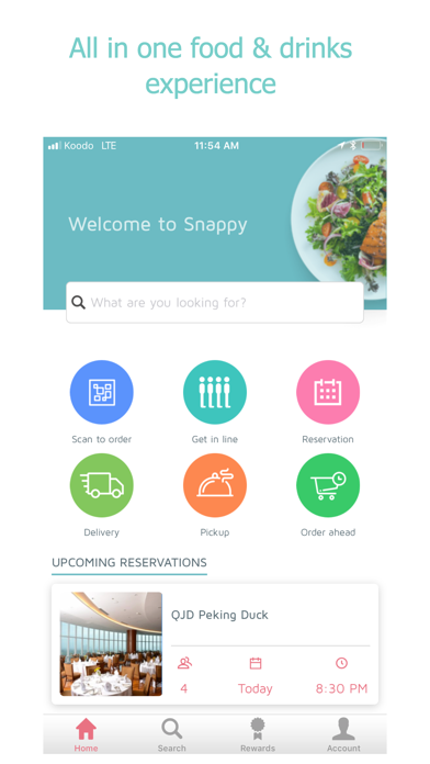 Snappy.io screenshot one
