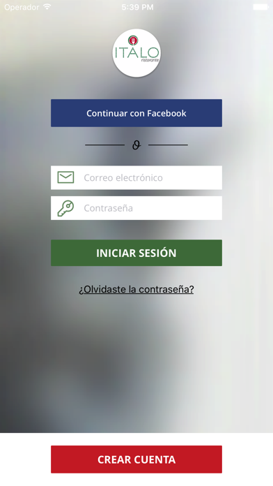 Italo Restaurante screenshot one