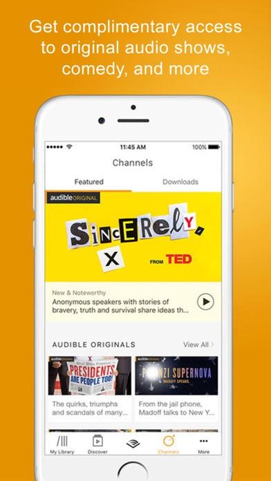 Screenshot 3 for Audible's iPhone app'