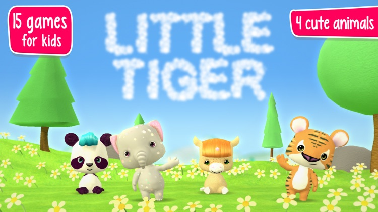 Little Tiger: Toddler's Firefighter & Astronaut screenshot-0