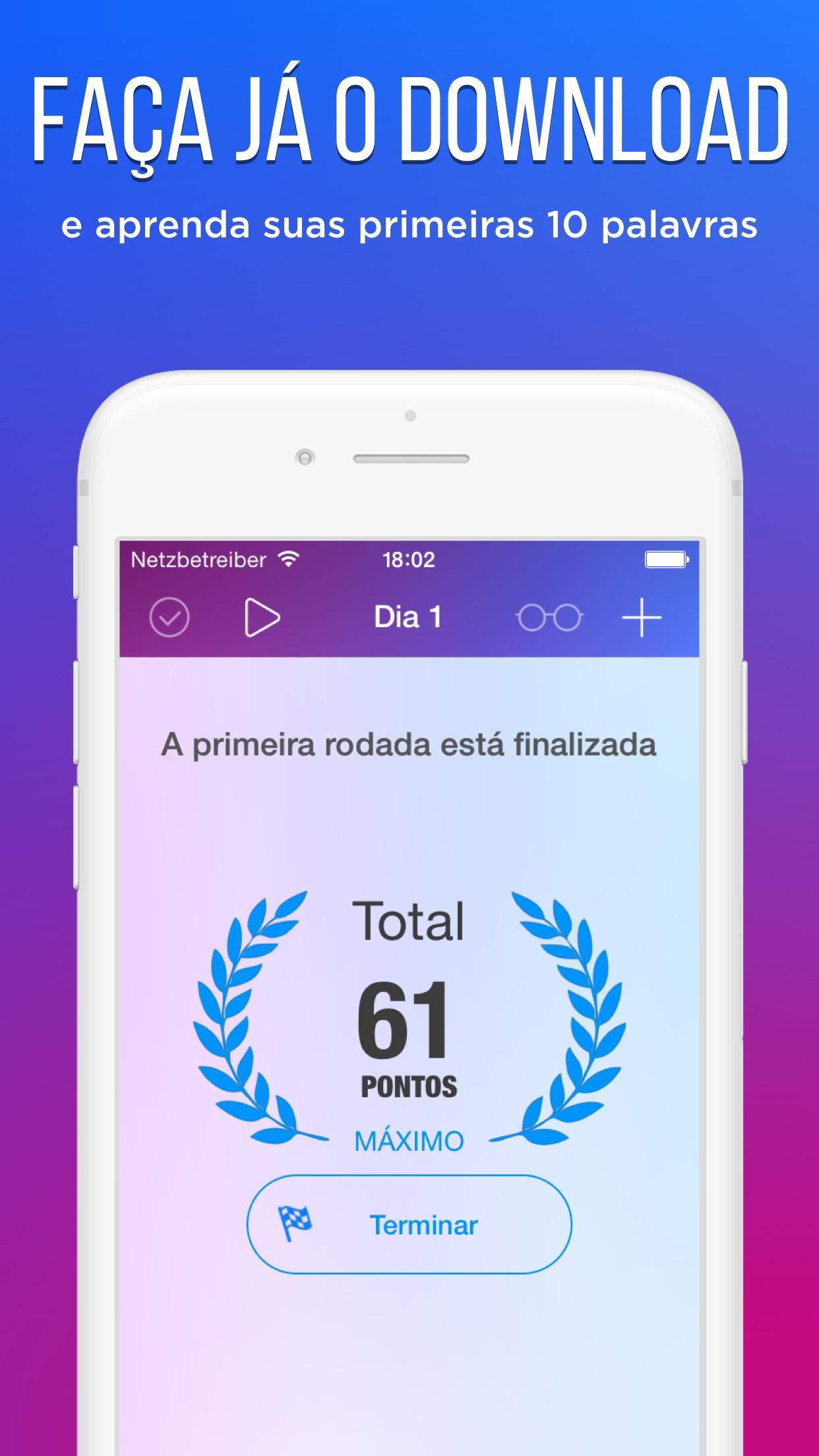 Screenshot do app easy ten