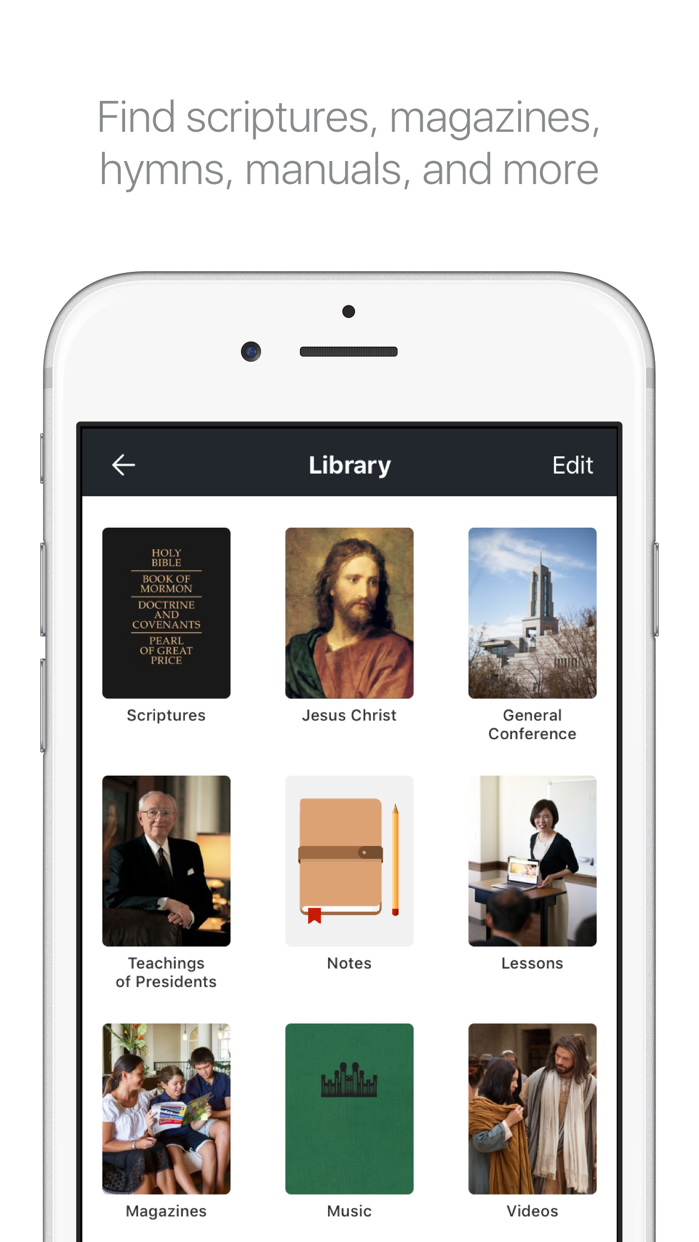 Gospel Library Screenshot