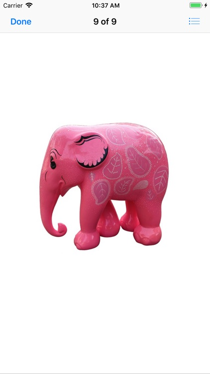 Pink Elephant Sticker Pack screenshot-8