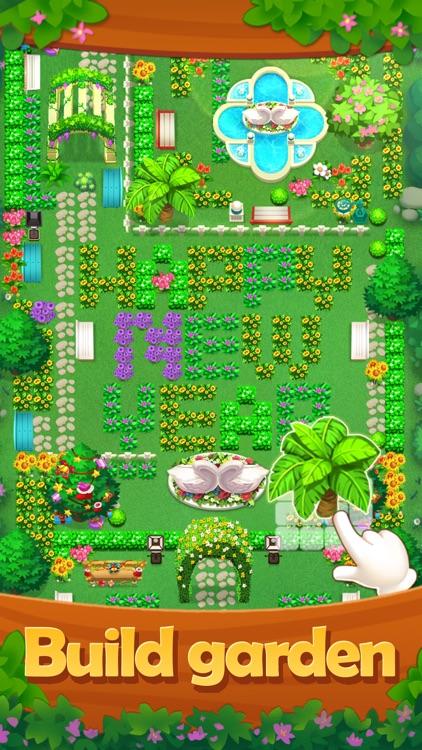 Fruit Garden - Scapes Match 3 screenshot-4