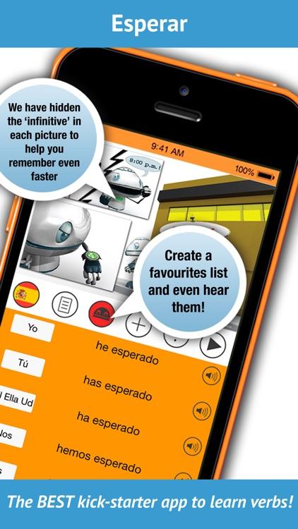 Spanish Verbs - LearnBots screenshot-4