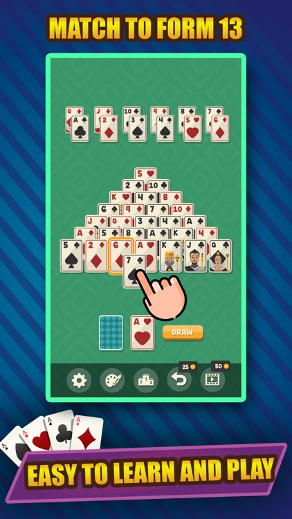 Classic Solitaire Pyramid