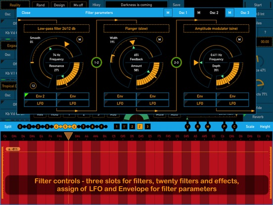 Screenshot #3 for SynthScaper