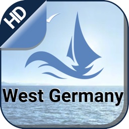 West Germany Nautical Charts