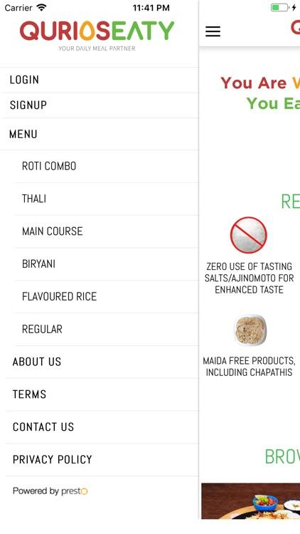 QuriosEaty - Your Meal Partner screenshot-3