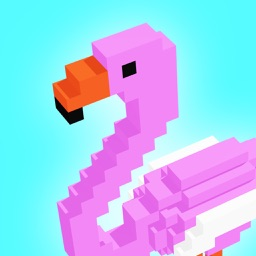 Flamingo - 3d Voxel Coloring