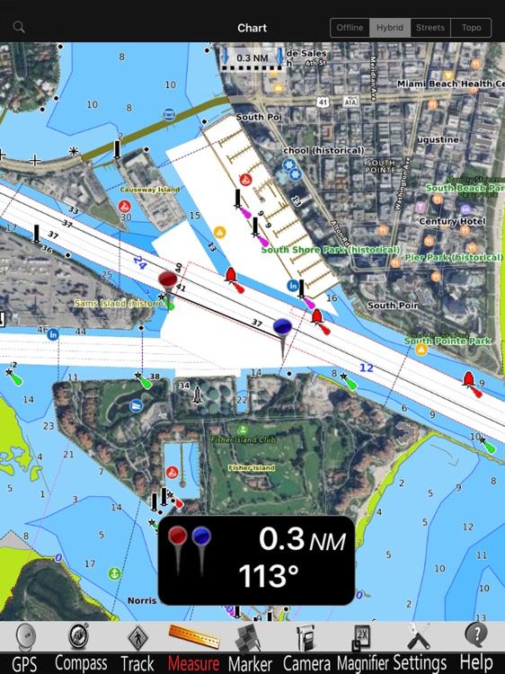 Murray lake GPS Charts Pro