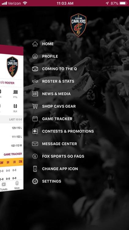 Cleveland Cavaliers screenshot-3