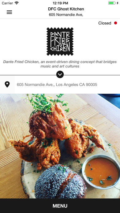 点击获取Dante Fried Chicken