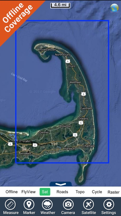 Cape Cod National Seashore - GPS Map Navigator screenshot-4