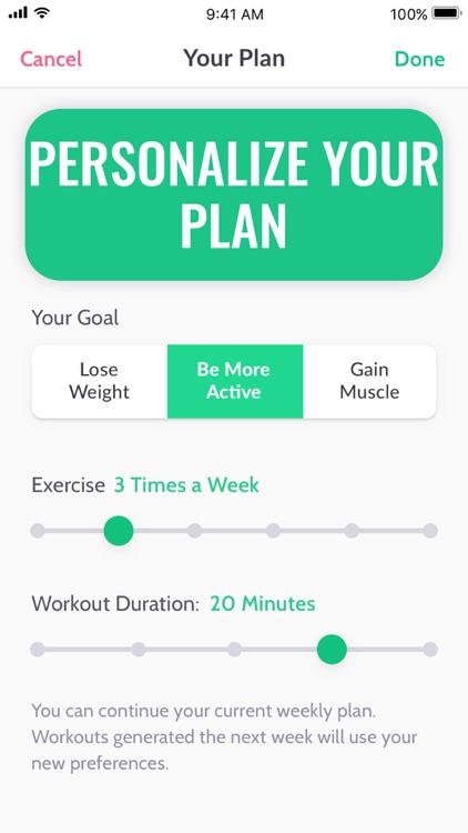 30 Day Fitness Challenge ∘ screenshot-4