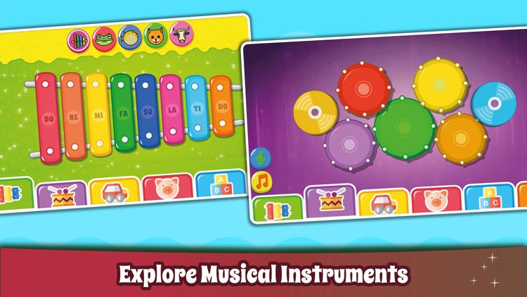 Kids Piano Games & Baby Sounds