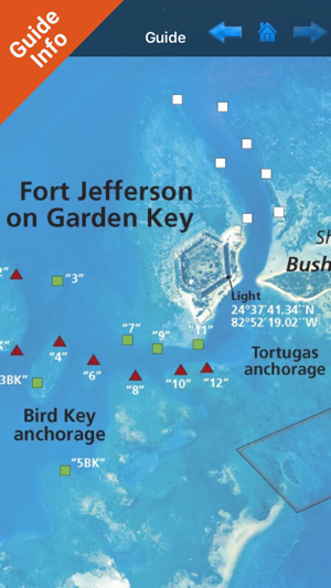 Dry Tortugas National Park GPS Map Navigator on the App Store