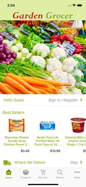 screenshots - Garden Grocer