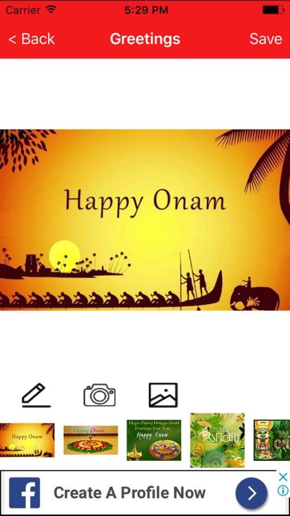 Onam greetings maker for onam messages images by santosh mishra onam greetings maker for onam messages images m4hsunfo