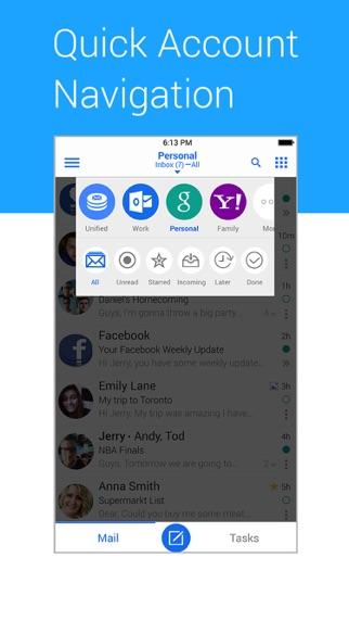 Screenshot #3 pour TypeApp- Mail, IMAP & Exchange