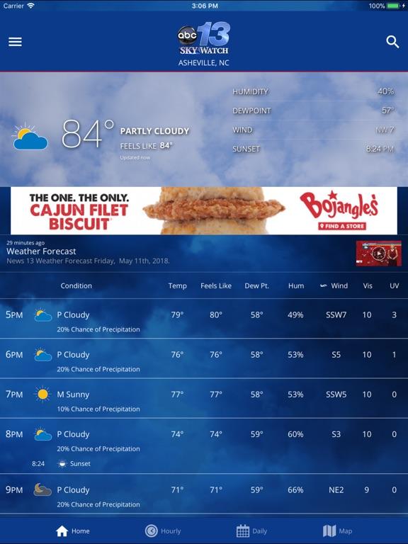 wlos news 13 weather radar