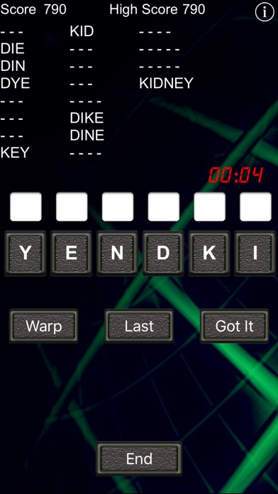 Word Warp - A Word Puzzle Game Скриншоты7
