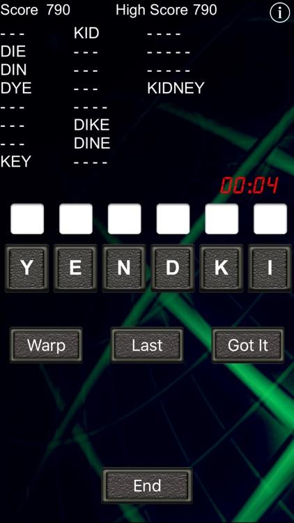 Word Warp - A Word Puzzle Game screenshot-4
