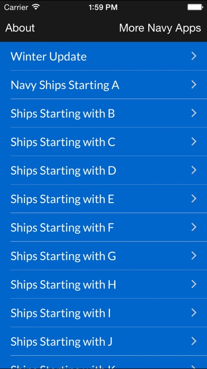 U.S Navy Ships: A History screenshot-0