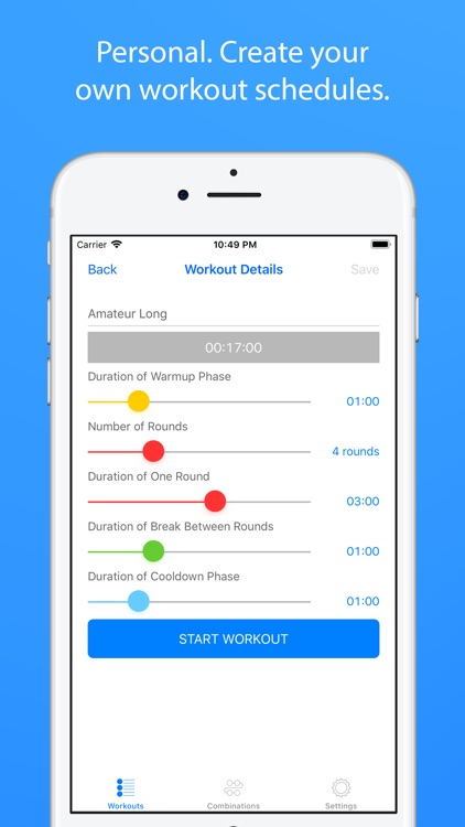 Boxing Coach and Workout Timer screenshot-2