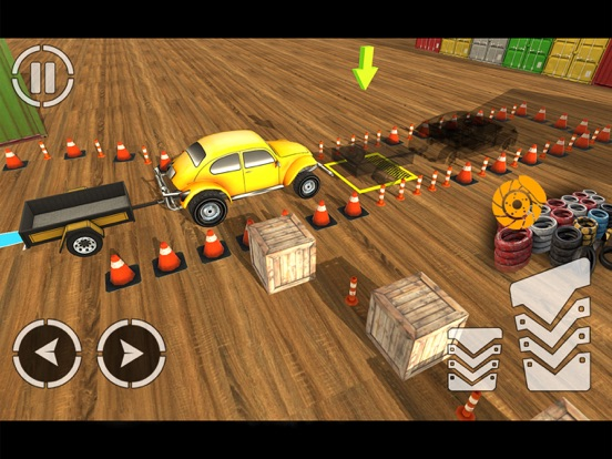 Car Parking:Trailer Challenge-ipad-1
