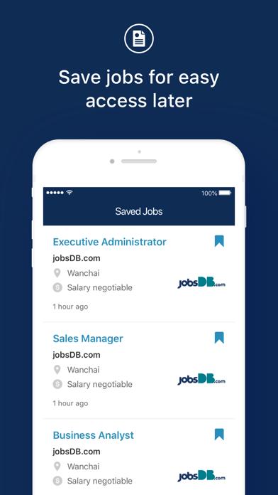 jobsDB Job Search screenshot four