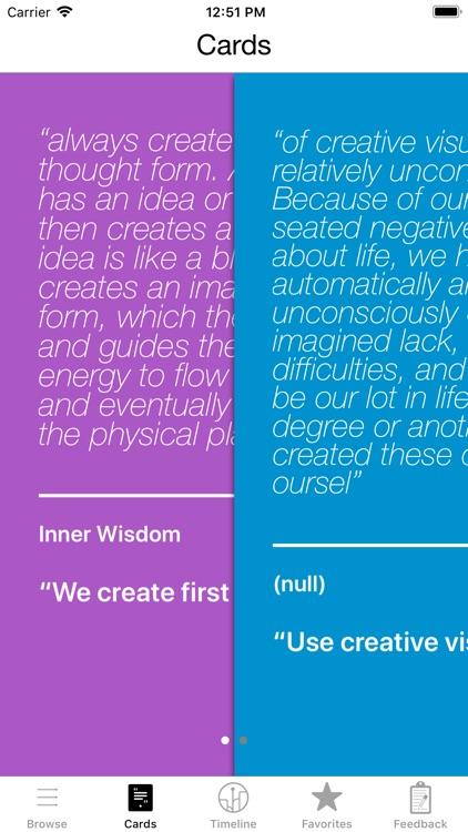 Creative Visualization Deck screenshot-3