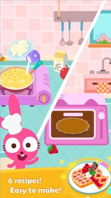 Purple Pink Fruit Pie Cooking