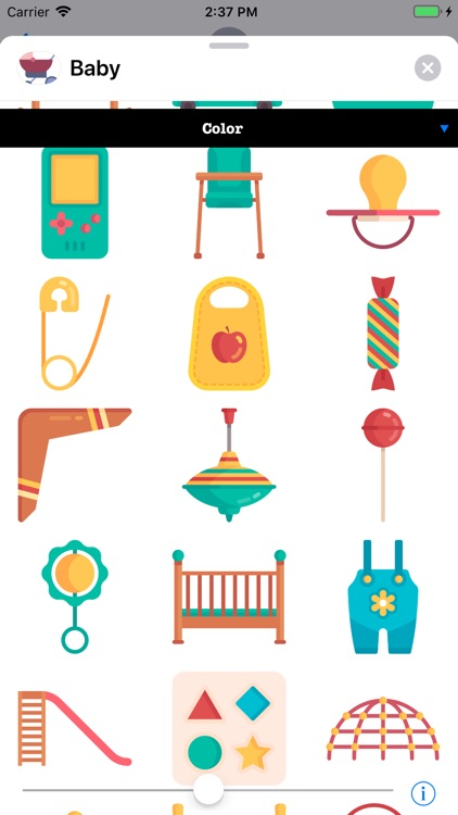 Infant Baby Stickers screenshot-4