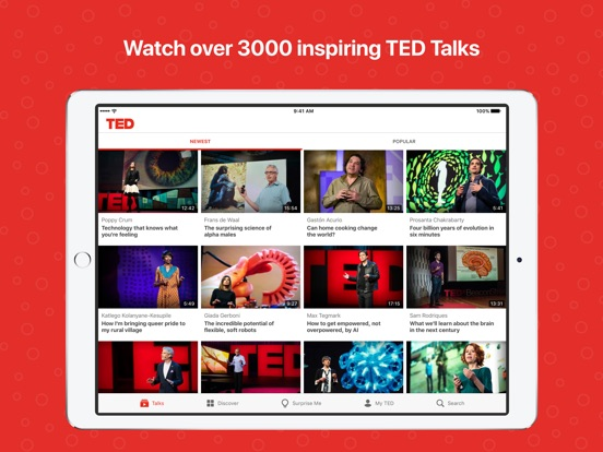 TED iPad