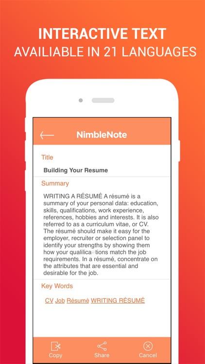 NimbleNote | OCR EduCreations screenshot-4