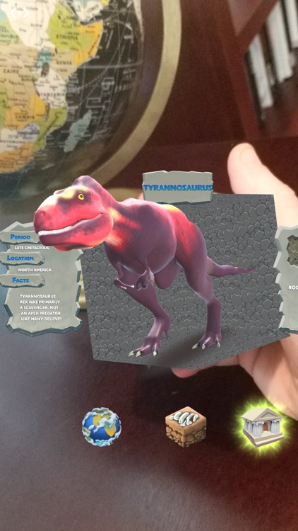 DinoDigger for Merge Cube