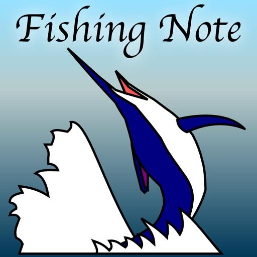 釣果ノート(製本まで可能な釣果記録アプリ)