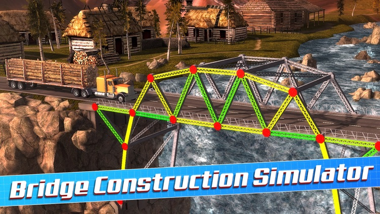 Bridge Construction Sim screenshot-0