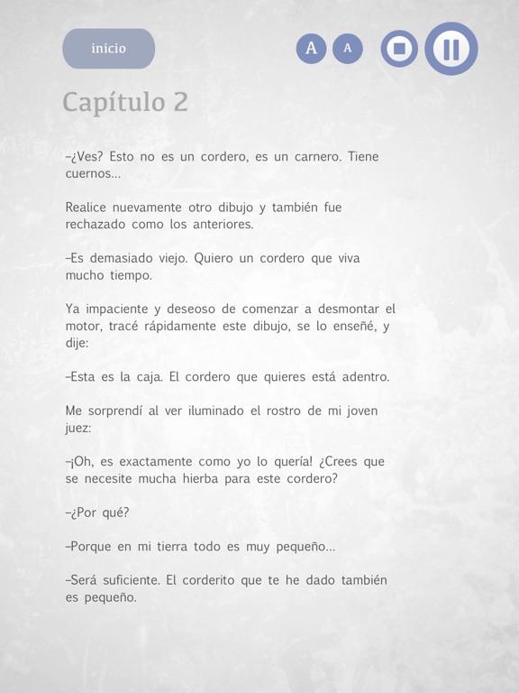 El Principito - Audiolibro screenshot 8