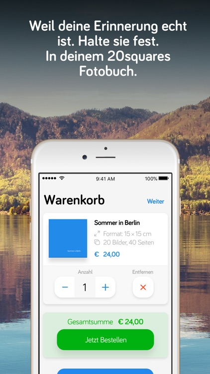 20squares – dein Fotobuch. screenshot-3