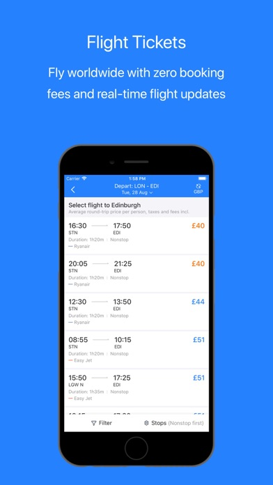 Screenshot for Trip.com – Flights & Hotels in Singapore App Store