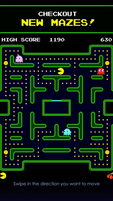 PAC-MAN screenshot four