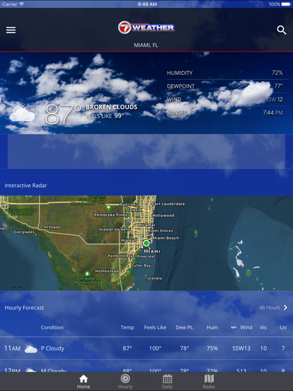 WSVN – South Florida Weather | App Price Drops