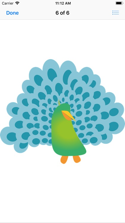 Pretty Peacock Stickers screenshot-7