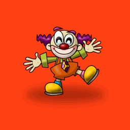 Clown Stickers - HAHAHA