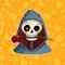 Happy Halloween : Spooky Skull